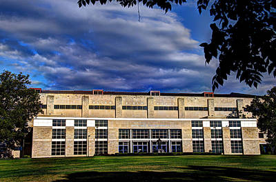 Allen Fieldhouse At Daybreak Art Print