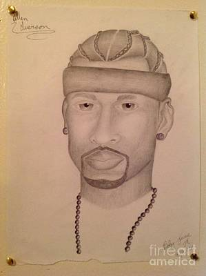 Hip Drawing - Allen Iverson by Young CHOICE
