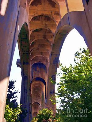 Photograph - Allentown Pa Alburtus Meyers Bridge by Jacqueline M Lewis