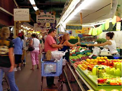 Photograph - Allentown Pa Farmers Market by Jacqueline M Lewis