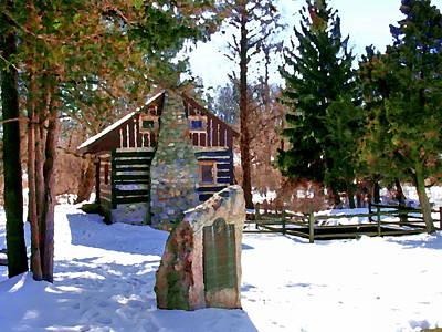Photograph - Allentown Pa Trexler Park Springhouse by Jacqueline M Lewis