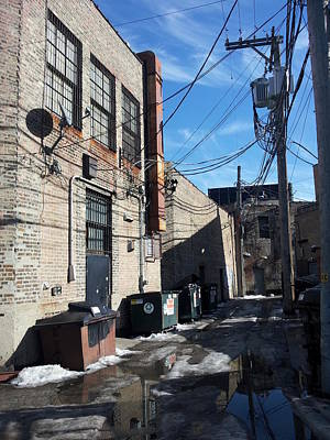 Photograph - Alley 24 by Zac AlleyWalker Lowing