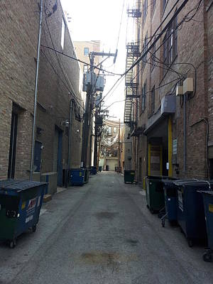 Photograph - Alley 34 by Zac AlleyWalker Lowing