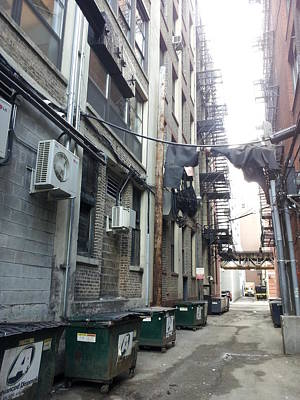 Photograph - Alley 37 by Zac AlleyWalker Lowing