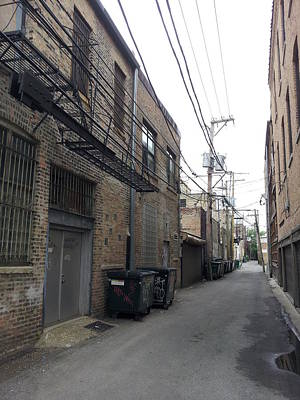 Photograph - Alley 5 30 14 by Zac AlleyWalker Lowing