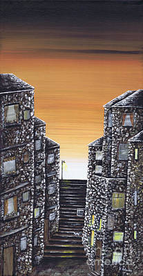 Painting - Alley Cat by Kenneth Clarke