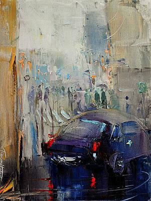 Painting - Alley by David Figielek