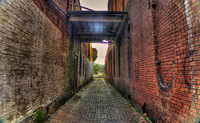 Photograph - Alley In Hdr by Jonny D