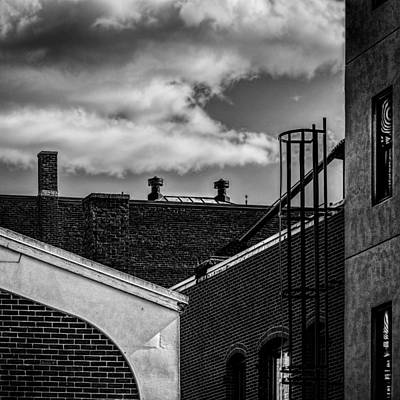 Surreal Photograph - Alley Off The Park by Bob Orsillo