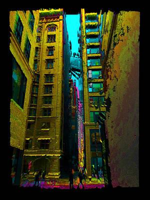 Digital Art - Alley Valley by Zac AlleyWalker Lowing