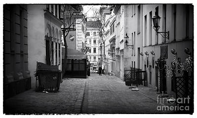 Photograph - Alley Walk In Vienna by John Rizzuto