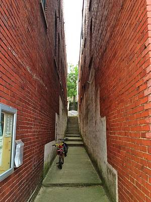 Photograph - Alley Way by Dave Hall
