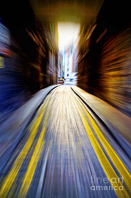 Book Jacket Photograph - Alleyway With Motion by Craig B