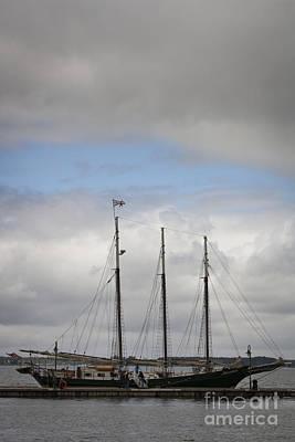Historic Photograph - Alliance Charter Schooner by Teresa Mucha