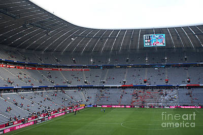 Photograph - Allianz Arena Munich by Rudi Prott