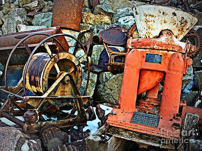 Photograph - Allis Chalmers 1898 by Lee Craig