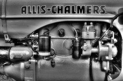 Photograph - Allis Chalmers Engine by Michael Eingle