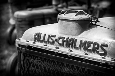 Tractor Photograph - Allis Chalmers by Patrick M Lynch
