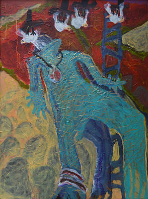 Allmarine Art Print by Nancy Mauerman