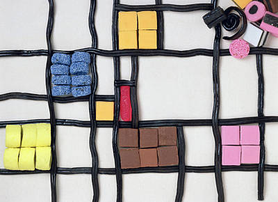 Photograph - Allsorts 2 'sweet Piet', 2003 by Norman Hollands