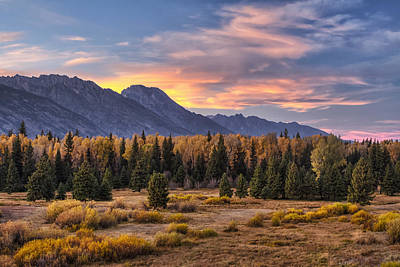Teton Wall Art - Photograph - Alluring Conclusion by Mark Kiver