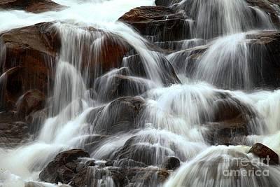 Photograph - Alluvial Fan Cascade by Adam Jewell