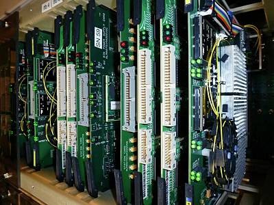 Component Photograph - Alma Correlator Supercomputer by European Southern Observatory
