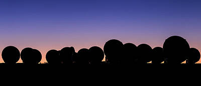 Andean Photograph - Alma Radio Telescopes At Sunset by Babak Tafreshi