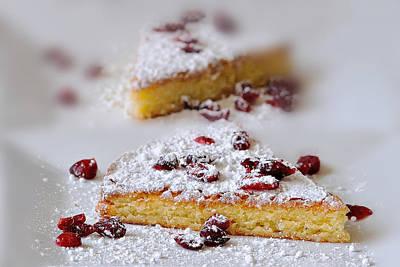 Almond Cake Art Print by Carol Eade