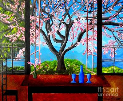 Painting - Almond With A View by Jayne Kerr