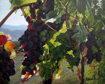 Painting - Almost Harvest by Karen Ilari