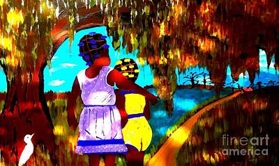 Painting - Almost Home Impression by Saundra Myles