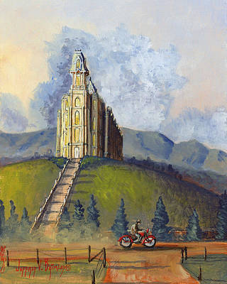 Painting - Almost Home by Jeff Brimley
