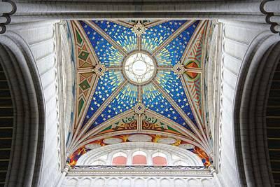 Almudena Cathedral Interior Art Print by Jenny Hudson
