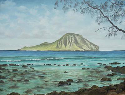 Aloha Kakahiaka Manana Art Print by Wallace Kong
