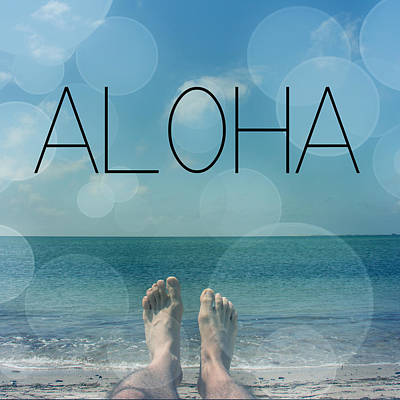 Spiritualism Photograph - Aloha  by Mark Ashkenazi
