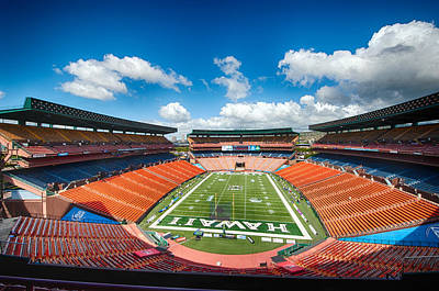 Recently Sold - Sports Royalty-Free and Rights-Managed Images - Aloha Stadium by Dan McManus