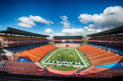 Photograph - Aloha Stadium by Dan McManus