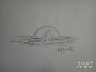Alone In A Boat Original