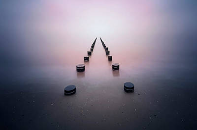 Piers Wall Art - Photograph - Alone In The Silence by Srecko Jubic
