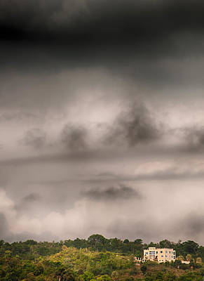 Photograph - Alone In The Storm by Gary Slawsky