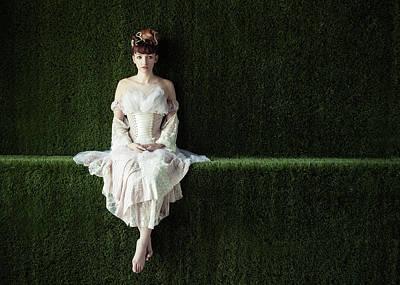 Alone In Wonderland Art Print