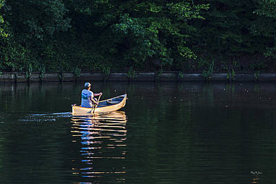 Photograph - Alone On The Lake by Barry Jones