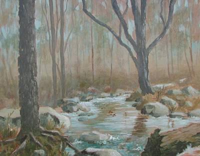 Painting - Alone by Tony Caviston