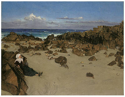 Alone With The Tide Art Print by James Abbott McNeill Whistler