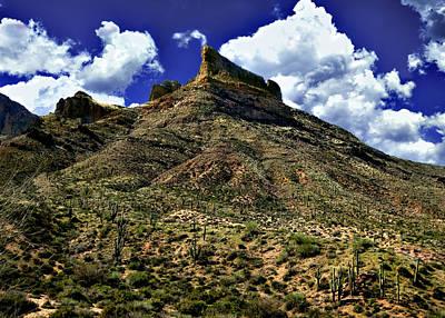 Photograph - Along Apache Trail Arizona by Bob and Nadine Johnston