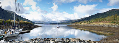 Photograph - Along Loch Leven by Wendy Wilton