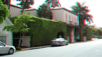 Photograph - Along Peruvian Avenue In Palm Beach Florida by Ron Davidson