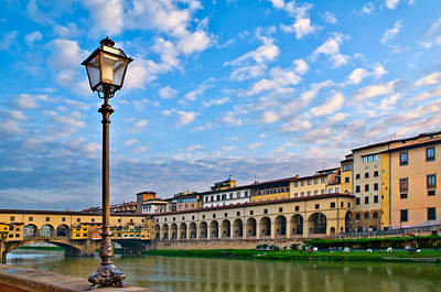 Photograph - Along The Arno #2 by Mick Burkey