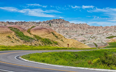 Photograph - Along The Badlands Tour Loop by John M Bailey